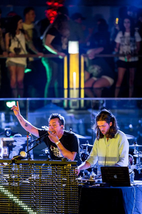 Atmosphere performs at Boulevard Pool at The Cosmopolitan of Las Vegas