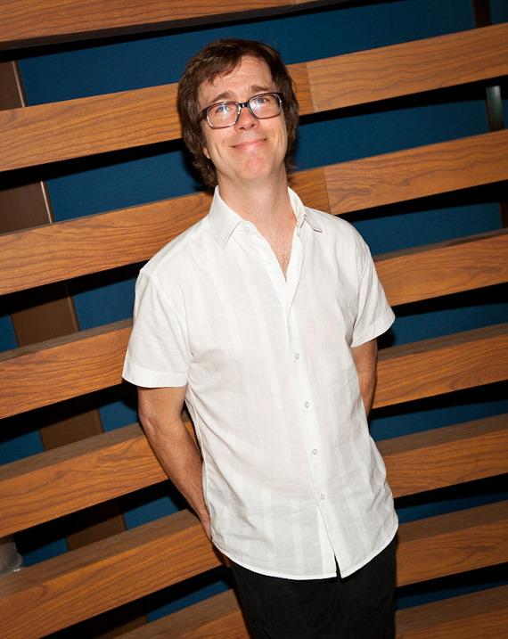 Ben Folds backstage at The Boulevard Pool at The Cosmopolitan of Las Vegas