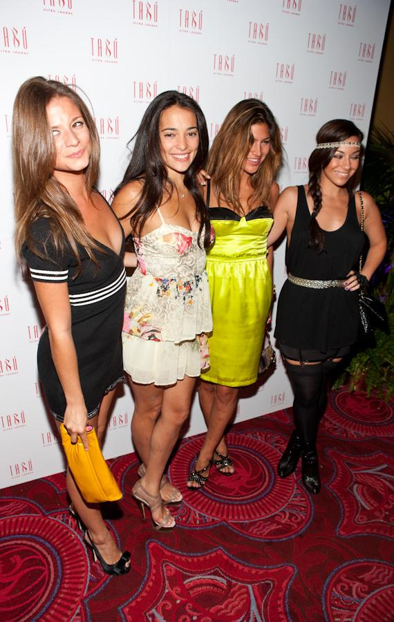 Natalie Martinez celebrates birthday at Tabú Ultra Lounge