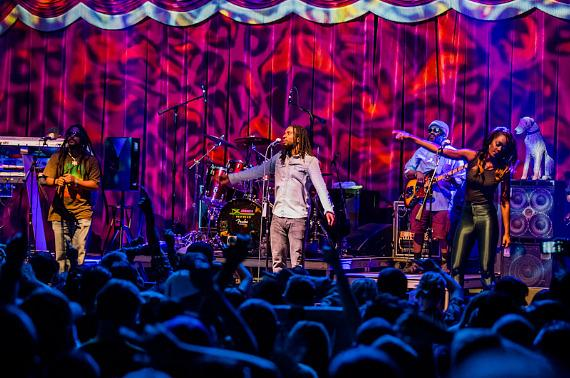 The Wailers perform at Brooklyn Bowl Las Vegas in The LINQ