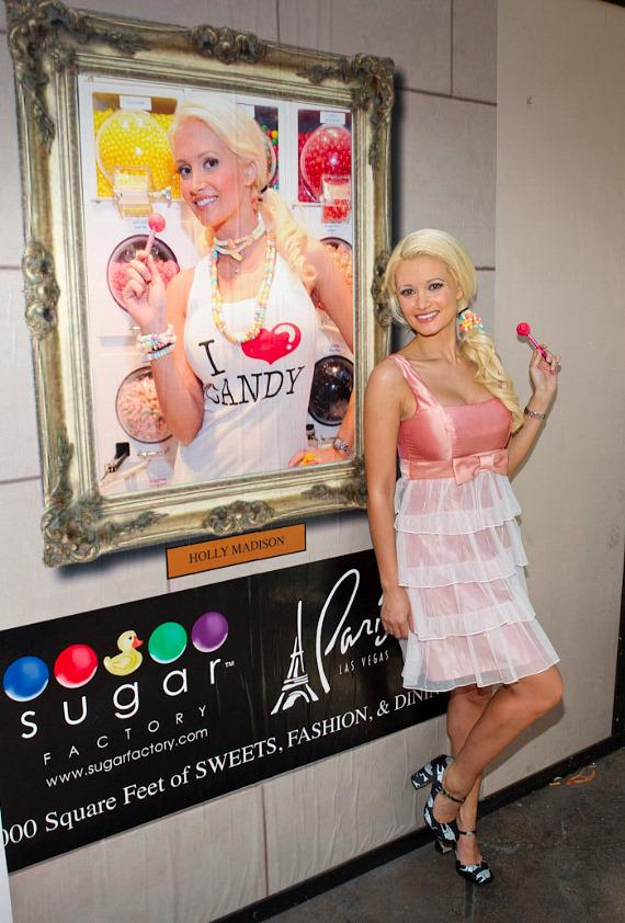 Holly Madison at Sugar Factory
