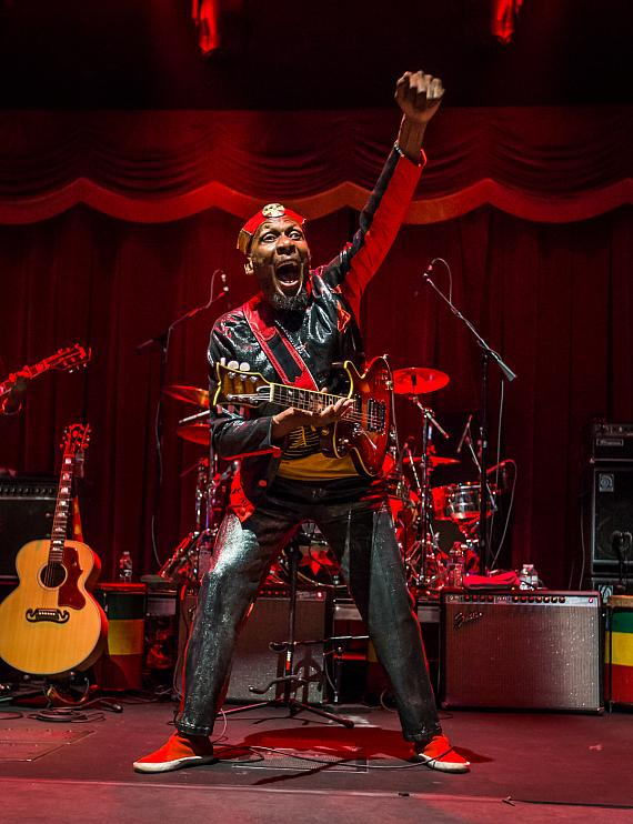 Jimmy Cliff performs at Brooklyn Bowl Las Vegas