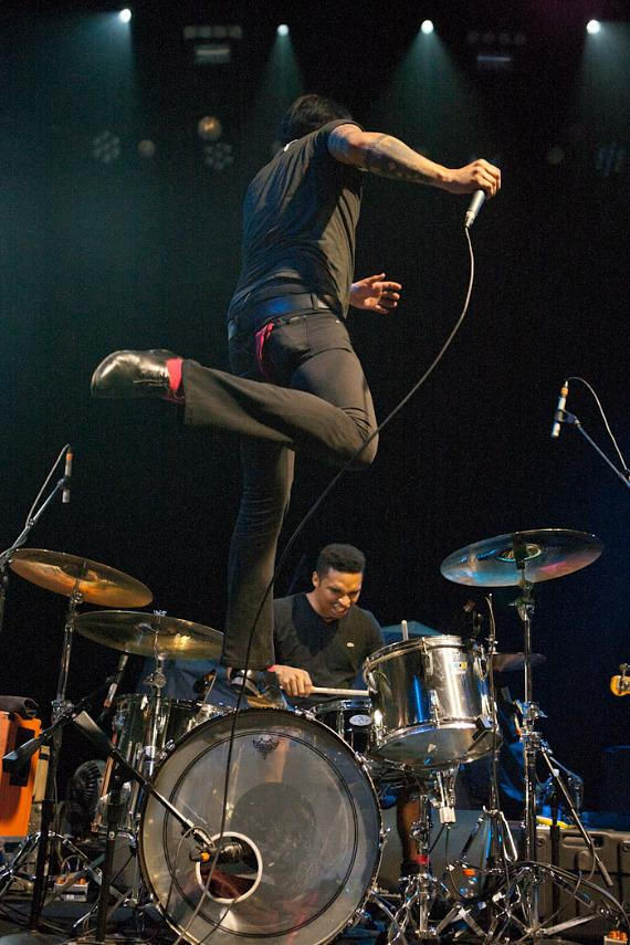 The Mars Volta performs at The Joint at Hard Rock Las Vegas