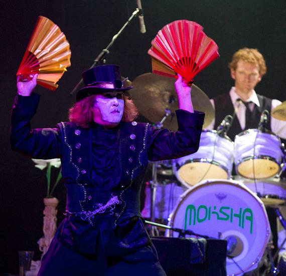 Moksha performs at House of Blues at Mandalay Bay in Las Vegas