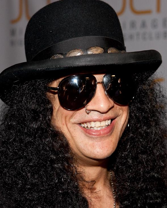 Slash Celebrates Birthday at JET in The Mirage