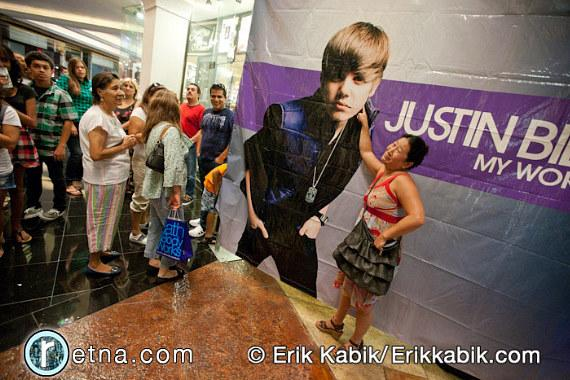 Justin Bieber at Theater For The Performing Arts at Planet Hollywood