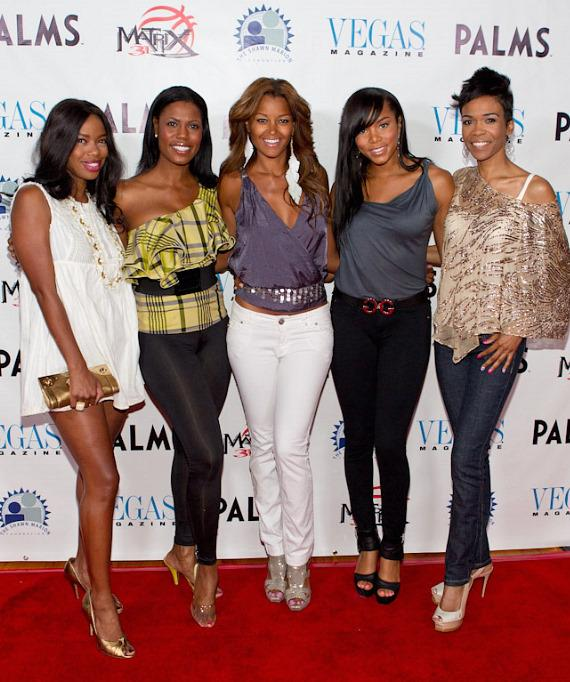 Jill Marie Jones, Omarosa, Claudia Jordan, LeToya Luckett and Michelle Williams