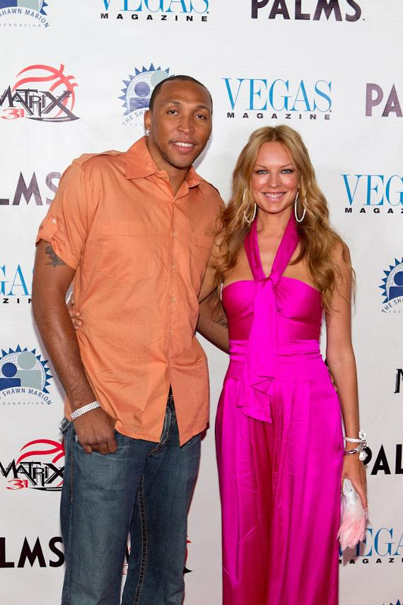 Shawn Marion and Natasha Alam
