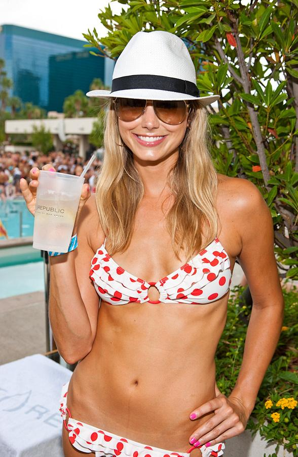 Today, WET REPUBLIC welcomed Stacey Keibler, model, actress, former WWE star ...