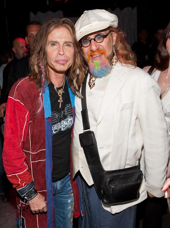 Steven Tyler and record producer Mark Hudson