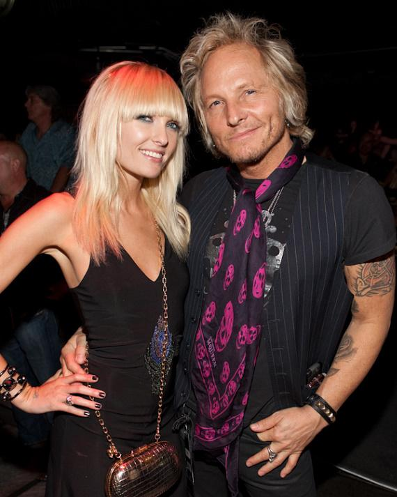 Guns N' Roses and Velvet Revolver drummer Matt Sorum and Ace Harper of Darling Stilettos