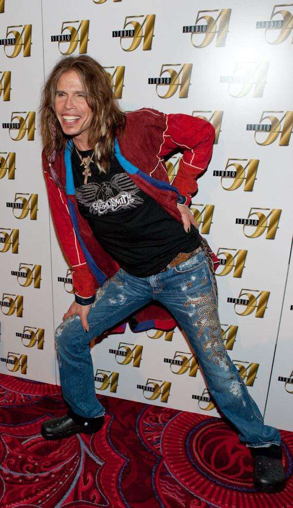 Aerosmith's Steven Tyler hosts at Studio 54