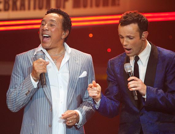 Smokey Robinson at Human Nature
