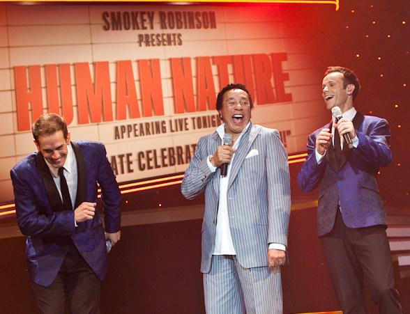 Smokey Robinson visits Human Nature