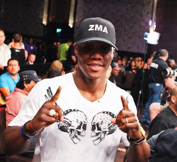 Zab Judah at The Cosmopolitan of Las Vegas