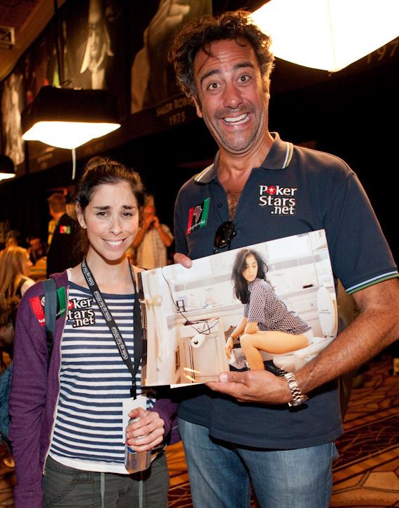 Sarah Silverman and Brad Garrett