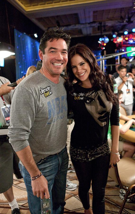 Dean Cain and Tiffany Michelle