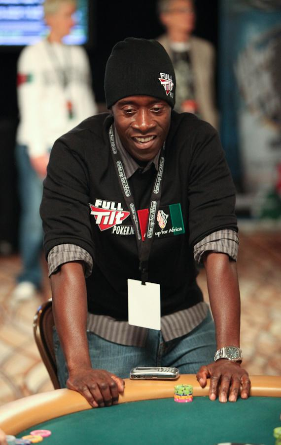 Tournament co-host Don Cheadle