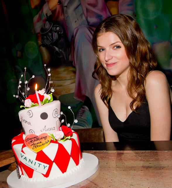 Anna Kendrick celebrates 26th birthday at Hard Rock Hotel in Las Vegas