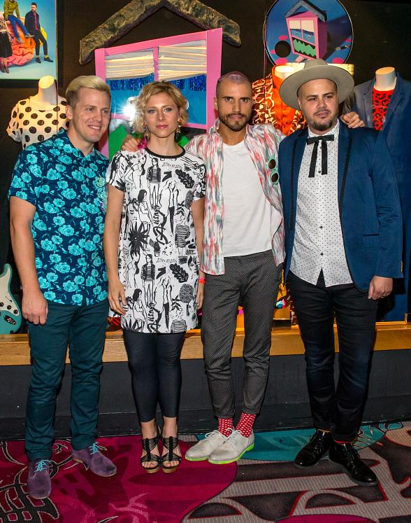 Neon Trees Receive Memorabilia Display at Hard Rock Hotel & Casino Las Vegas