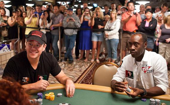 Matt Damon and Don Cheadle