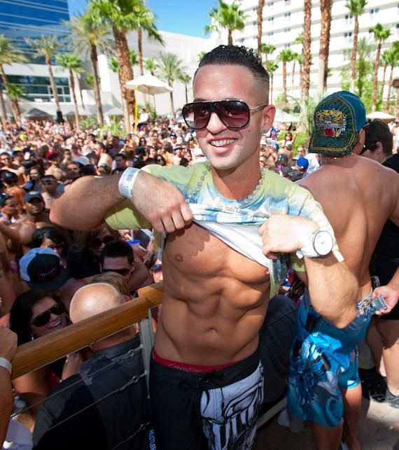 "Mike ""The Situation"" Sorrentino celebrates 4th of July at REHAB"
