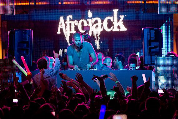 Afrojack at XS Nightclub