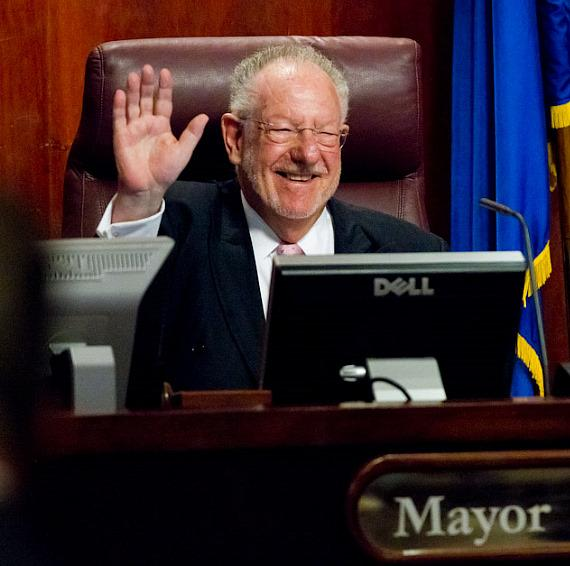 Mayor Oscar B. Goodman in Chambers