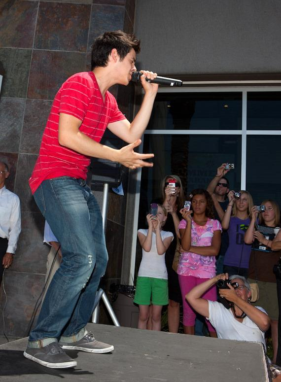 American Idol David Archuleta at Desert Books in Henderson, Nevada