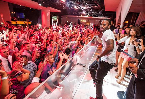 Heartthrob Jason Derulo performs Live at PURE Nightclub