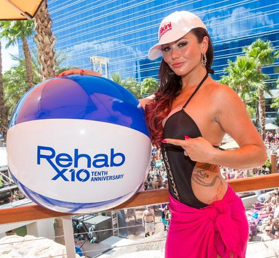 "Jennifer ""JWoww"" Farley at REHAB in Las Vegas"