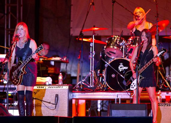 The Bangles at Lilith Fair 2010
