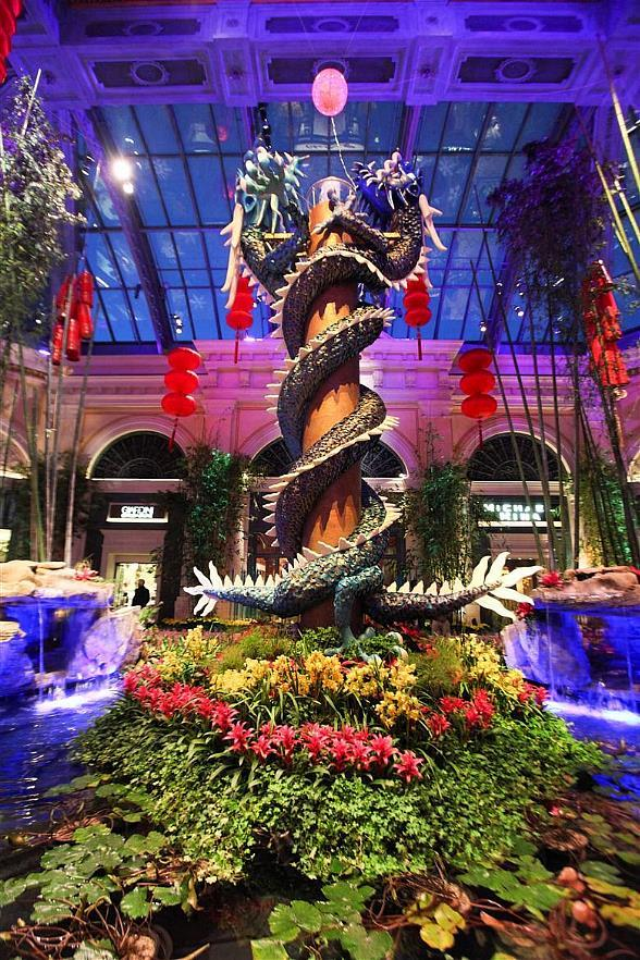Bellagio Conservatory & Botanical Gardens - Year of the Dragon Display