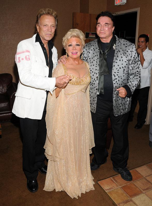Mitzi Gaynor with Siegfried & Roy