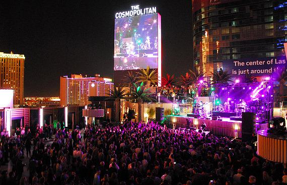 Robyn performs at The Boulevard Pool at The Cosmopolitan of Las Vegas