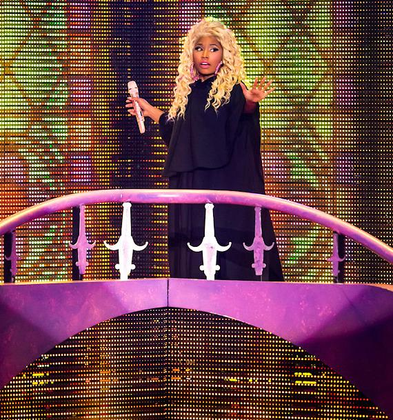 Nicki Minaj performs at Planet Hollywood Hotel & Casino in Las Vegas