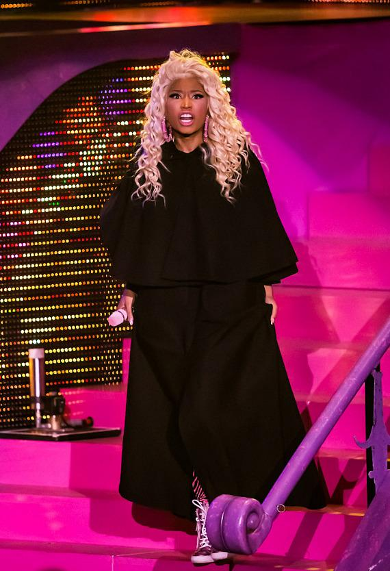 Nicki Minaj performs at Planet Hollywood Hotel &amp; Casino in Las Vegas