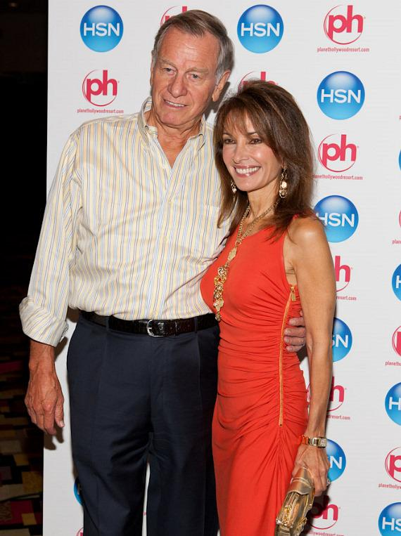 Helmut Huber and Susan Lucci at HSN Live in Vegas at Planet Hollywood