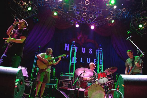 Moksha performs at House of Blues in Mandalay Bay