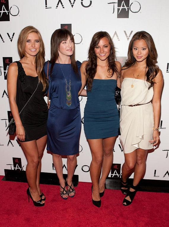 Audrina Patridge, Margo Harshman, Briana Evigan and Jamie Chung