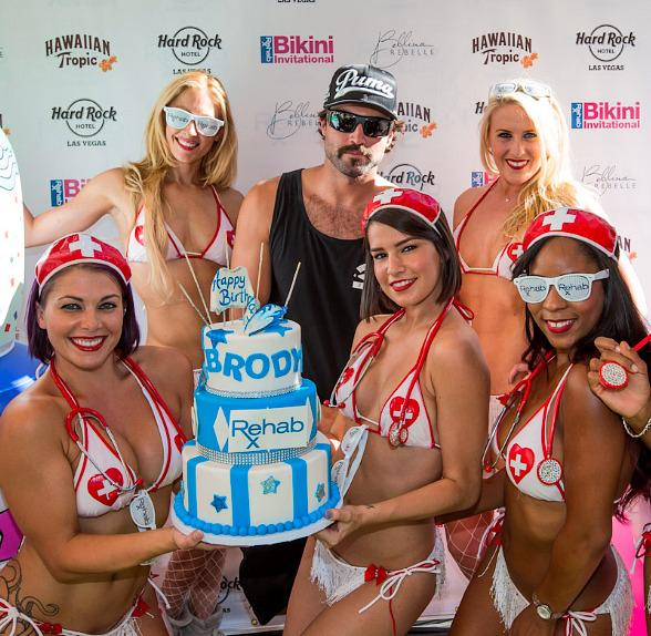 Brody Jenner's Birthday at REHAB at Hard Rock Hotel & Casino