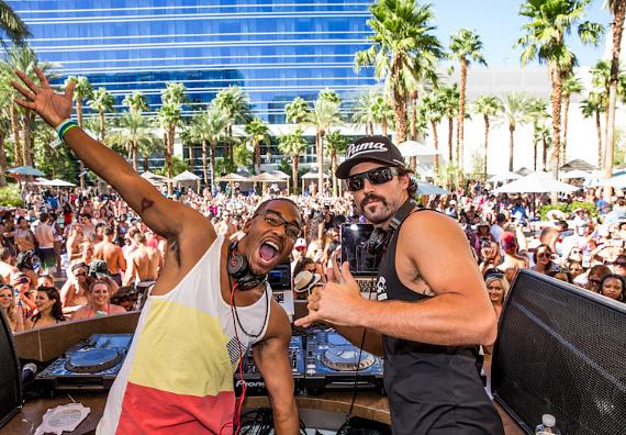 William Lifestyle and Brody Jenner at REHAB at Hard Rock Hotel & Casino