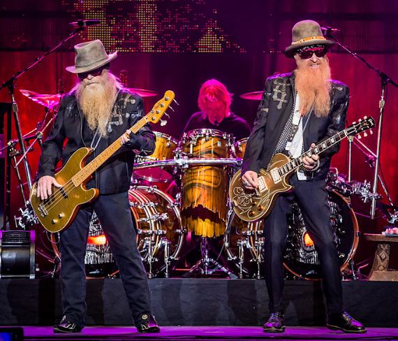 ZZ Top performs at The Joint in Hard Rock Hotel Las Vegas