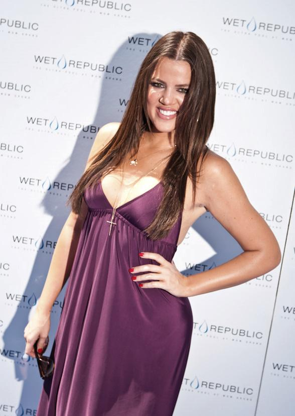 Khloe Kardashian at Wet Republic
