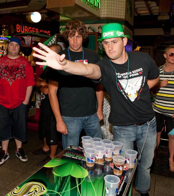 World Series of Beer Pong Founders Billy Gaines and Duncan Carroll