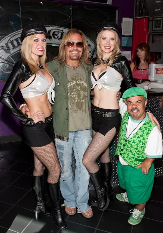 Jennifer Autry and Melinda Memory Vince Neil and Brian Thomas