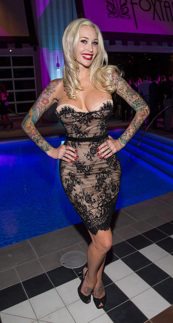 Reality TV star Sabina Kelley at SLS Las Vegas grand opening