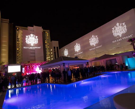 SLS Vegas on grand opening