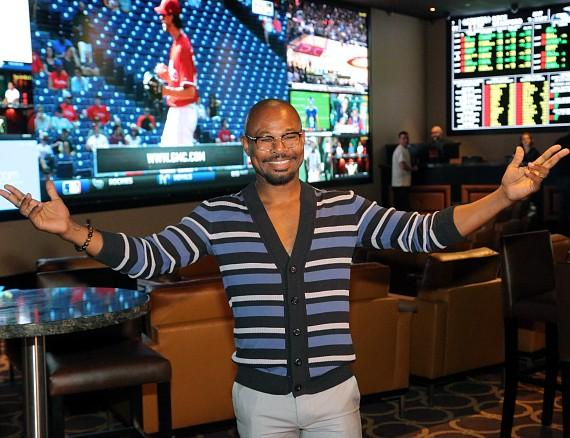 """Sugar"" Share Mosley at The Cromwell's new Sports Book"
