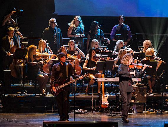 The Symphonic Rock Show performs at Reynolds Hall at The Smith Center For The Performing Arts in Las Vegas